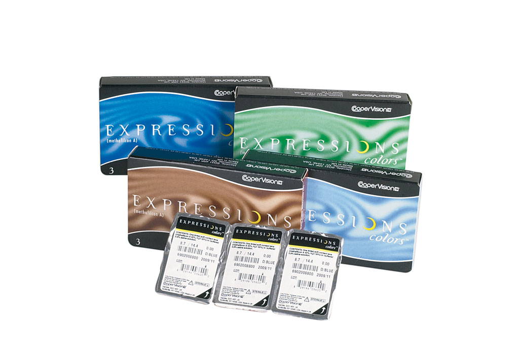 Expressions Colors Farb-Monats-Kontaktlinse 3-pack