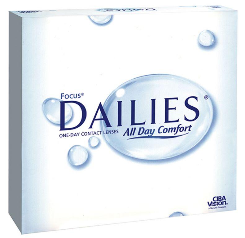 Focus Dailies All Day Comfort 90er Box
