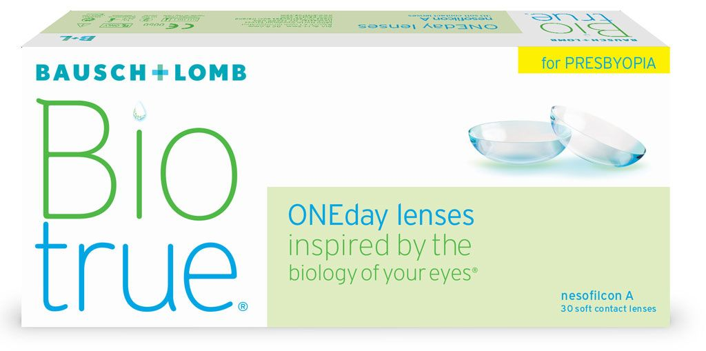 Biotrue ONEday lenses for Presbyopia 30er Box