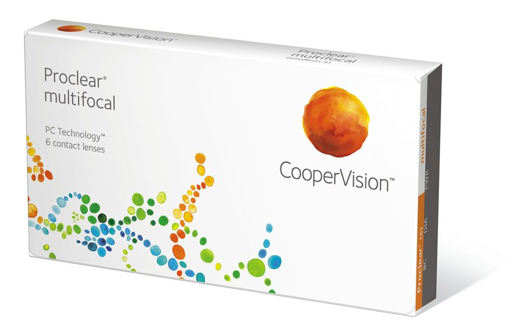 Proclear multifokal Monatskontaktlinse 6er Box