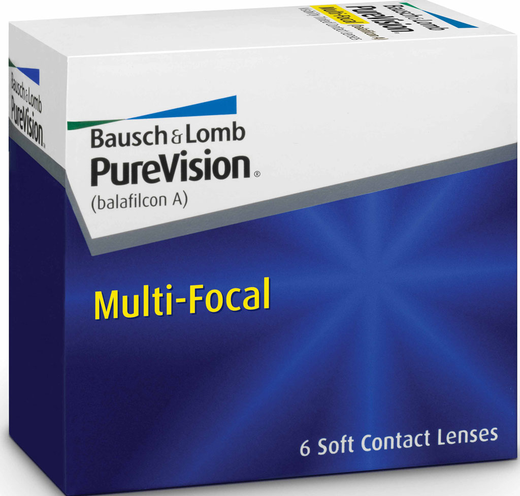 PureVision Multi-Focal Monatskontaktlinse 6er Box