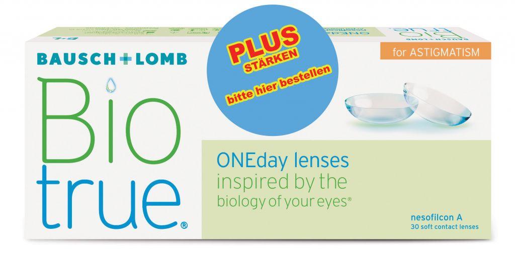Biotrue ONEday PLUS for Astigmatism 30er Box