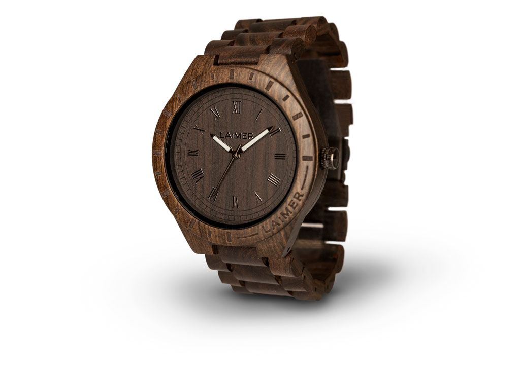 LAIMER Woodwatch BLACK EDITION Mod. 0018