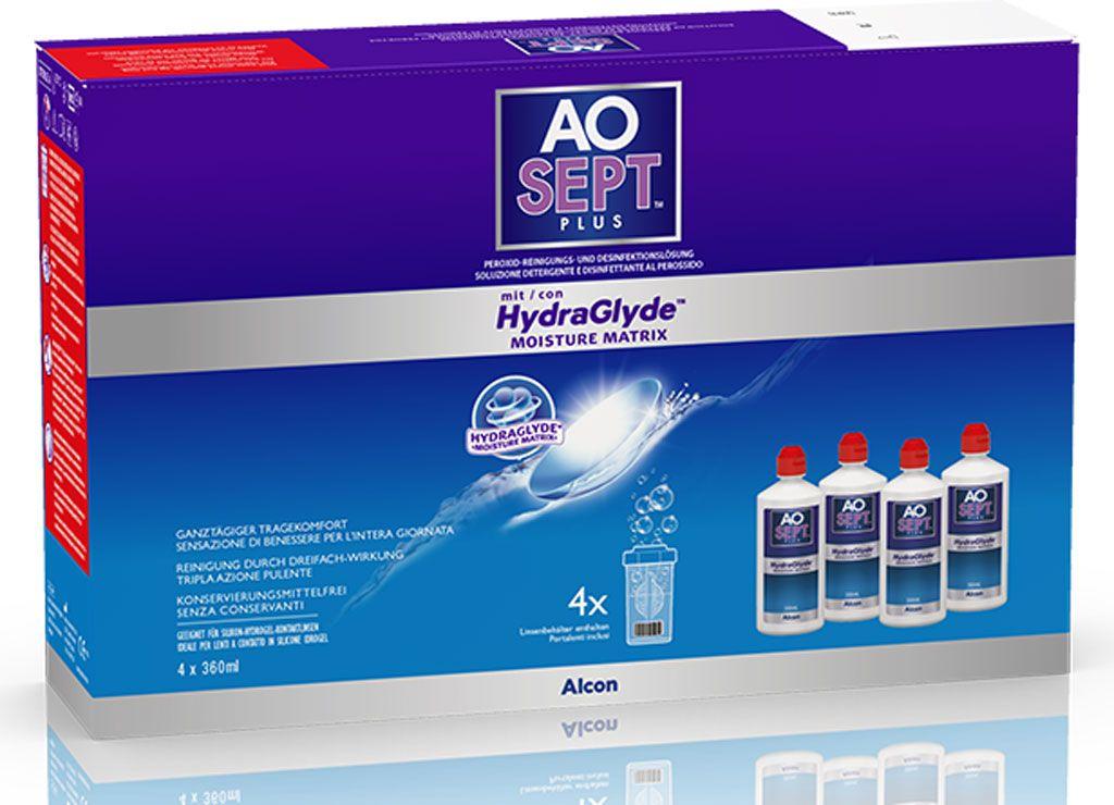 AO-Sept 4x 360ml Vorratspack + Reisegröße 90ml inkl. Behälter GRATIS!