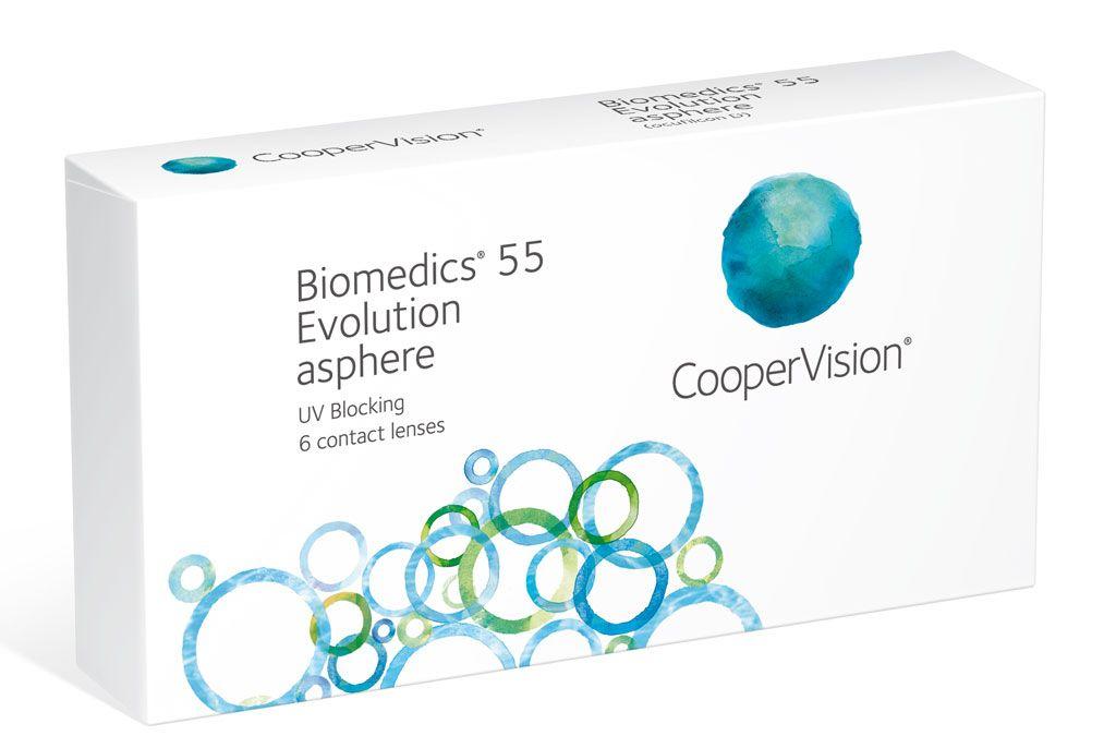 Biomedics 55 evolution PLUS 6er Box