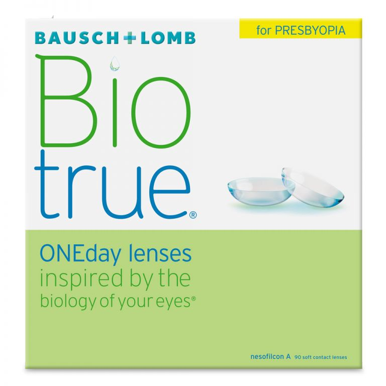 Biotrue ONEday lenses for Presbyopia 90er Box