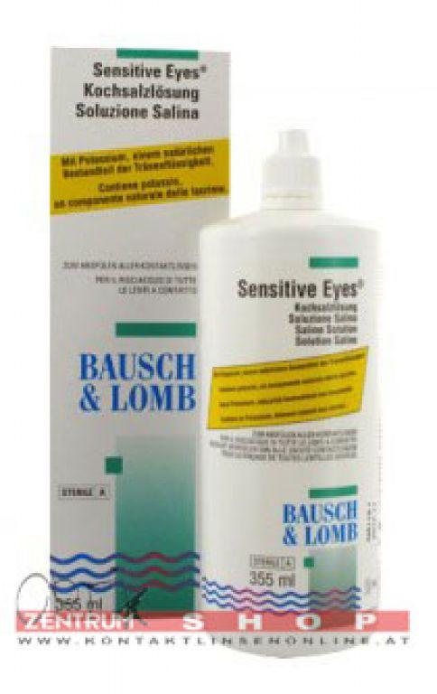 B & L Sensitive Eyes Kochsalzlösung 355ml