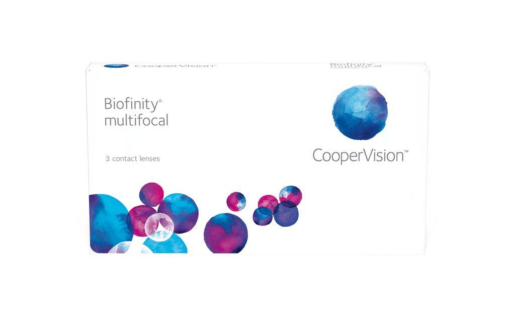 Biofinity Multifokal Monatskontaktlinse 3er Box