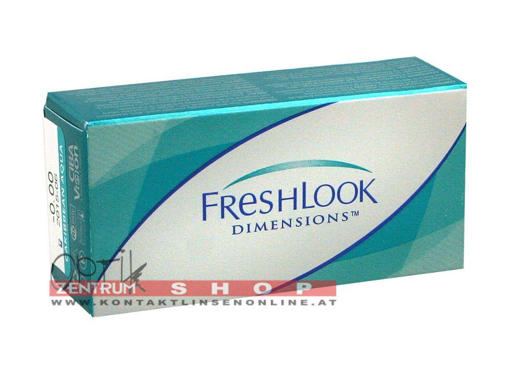 Freshlook Dimensions 2er Box (ohne Stärke)