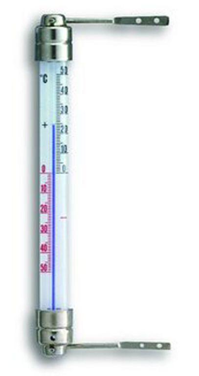 Außenthermometer Glas / Metall 180mm