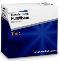 PureVision Toric for Astigmatism 6er Box