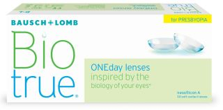 Biotrue ONEday lenses for Presbyopia 30er Box