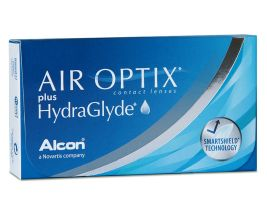 Air Optix plus HydraGlyde, 6-Pack