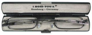 Reise-Lesebrille 9mm, antik silber, G5500