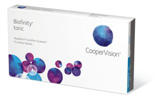 Biofinity toric Monatskontaktlinse 6er Box