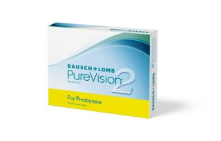 PureVision2 for Presbyopia Monatskontaktlinse 3er Box