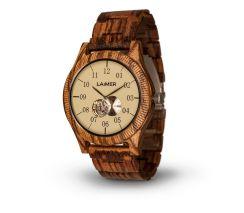 LAIMER Woodwatch ZEBRANO Mod. Erik 0051