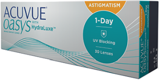 1 Day ACUVUE OASYS for Astigmatism 30er Box