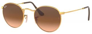 RAY BAN 3447-9001A5 ROUND METAL