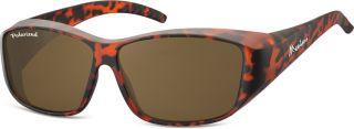 FIT OVERS FO0B - die Sonnenbrille über die normale Brille