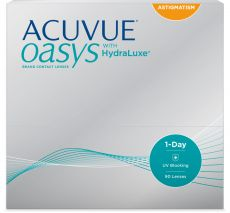 1 Day ACUVUE OASYS for Astigmatism 90er Box