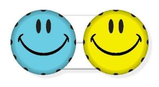 Kontaktlinsenbehälter SC121 smiley