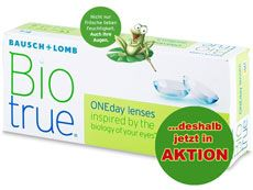 Biotrue ONEday lenses 30er Box